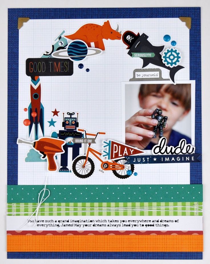 Memories Made #62: Scrapbooking Process Video by Jen Gallacher for www.jengallacher.com #scrapbooking #scrapbookprocess