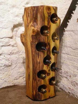 Wine Racks Wood Wine Racks And Solid Wood On Pinterest