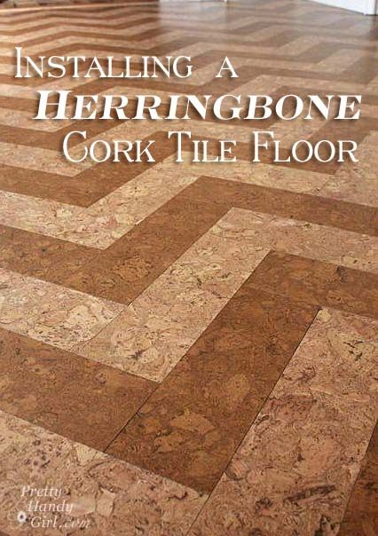 How To Install A HERRINGBONE Cork Tile Floor With GlobusCork Home