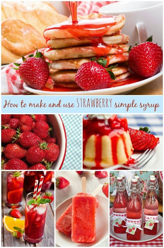 Farm Girl Inspirations: How to make strawberry simple syrup (and 7 fun way...