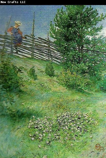 Carl Larsson Flicka Vid Gardesgarden