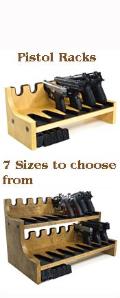 Quality Rotary Gun Racks, quality Pistol Racks - Rotary gun racks, pistol racks, wall racks Ben would get a kick out of this