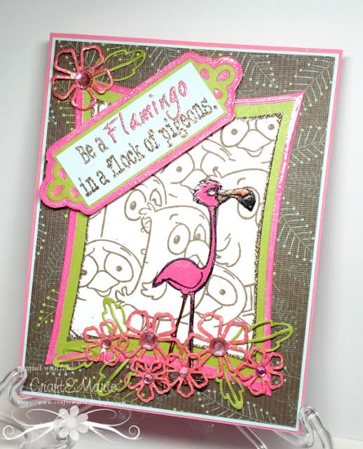 CraftEMarie: Be a Flamingo