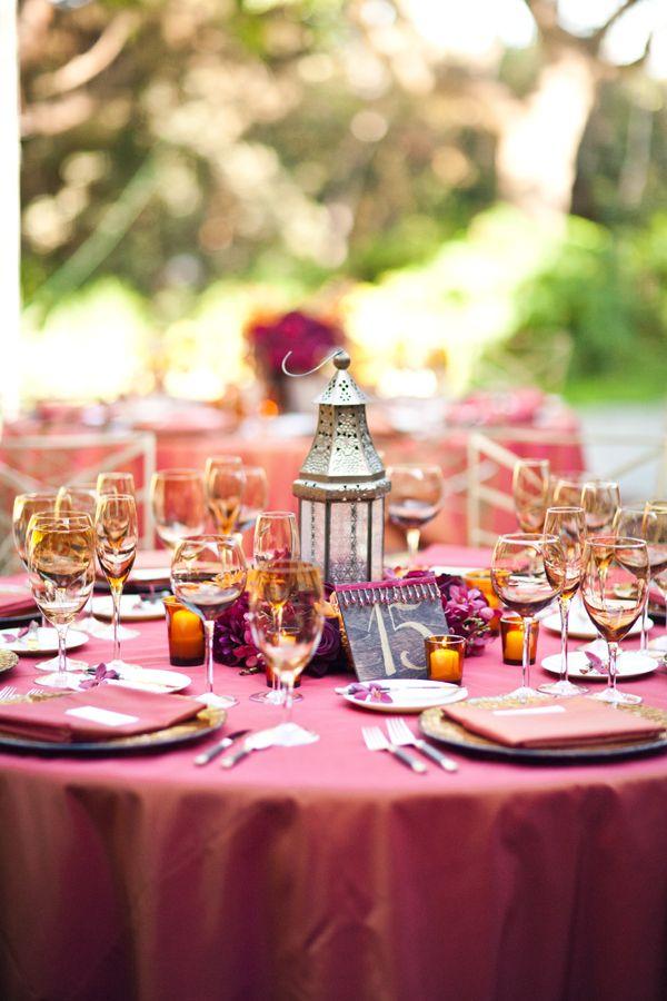 southern california wedding, middle eastern inspired wedding, sri lankin, orange and red wedding flowers, outdoor reception venue, orange wedding linens