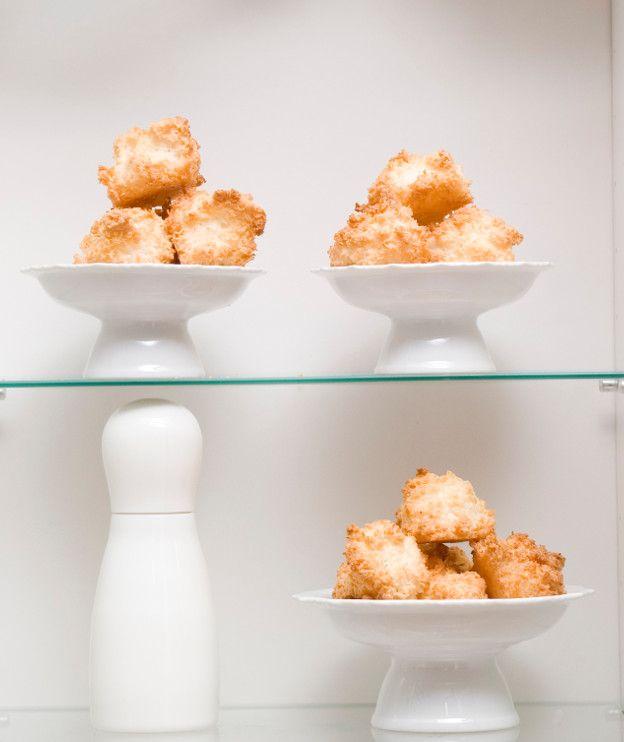 Μαλακά μπισκότα από καρύδα