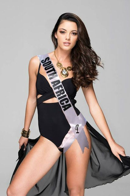 Demi-Leigh Nel-Peters - Miss Universe South Africa 2017