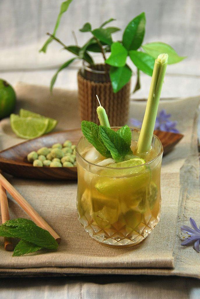 Mojito à citronnelle {recette de cocktail}
