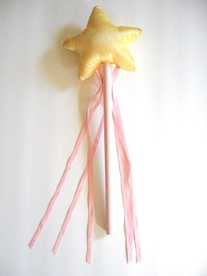 fairy wand tutorial with free pattern template ~ from Pickup Some Creativity