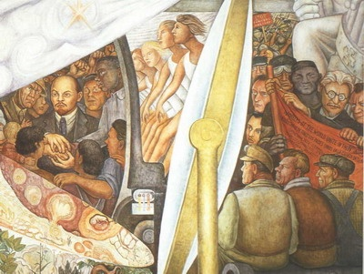584 best images about diego rivera el muralismo mexicano for Diego rivera lenin mural