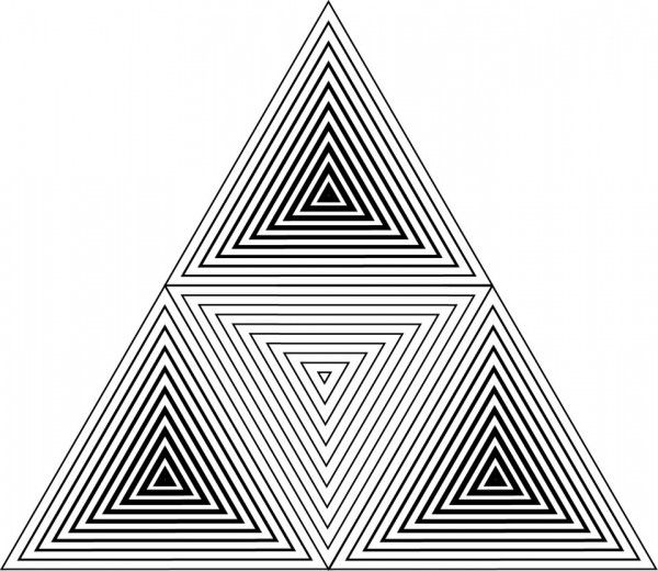 52 Best Images About Geometric Design Triangles On