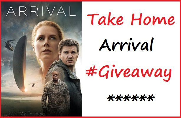 """Enter To #Win The Critically Acclaimed Film """"Arrival"""" on Blu-ray #Giveaway"""
