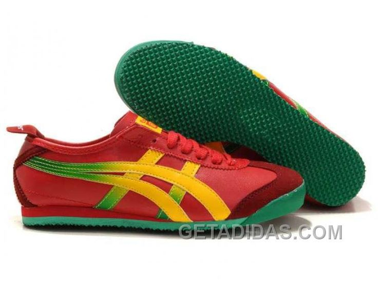 Now Buy Onitsuka Tiger Mexico 66 Mens Red Yellow Green Hot Save Up From  Outlet Store at Footlocker.