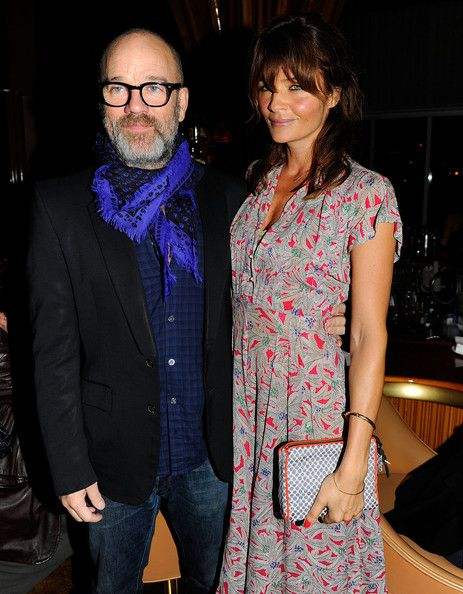 Michael Stipe and Helena Christensen @ 2010 Free The Slaves Benefit