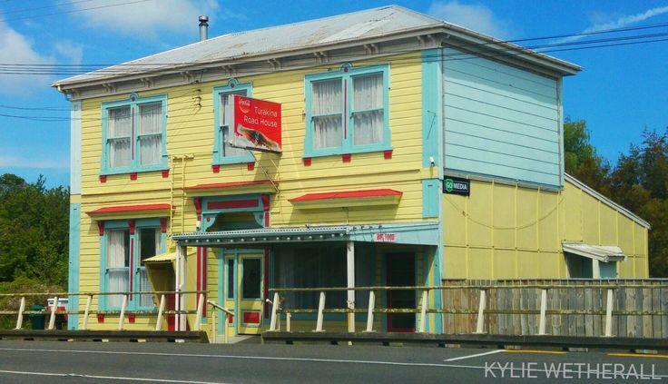 Turakina Road House. Turakina - not far from Wanganui. Photo by Kylie Wetherall