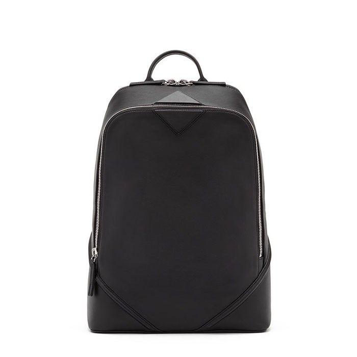 MCM Medium Duke Nappa Backpack In Black