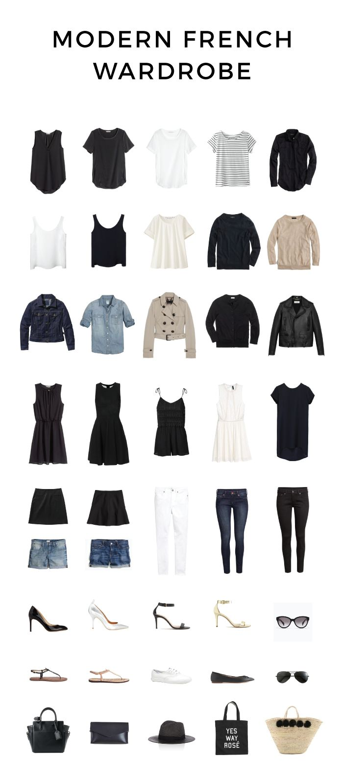 MINIMAL + CLASSIC @nordhaven: Modern French Wardrobe for Spring and Summer | modernfrenchblog.com
