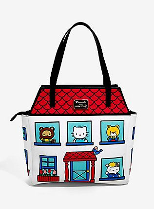 84f4ab811bba Loungefly Hello Kitty House Purse