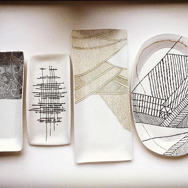 Air Dry Clay Handmade Trays Ceramics Porcelain Home Decor Design Pottery Jewelry Dish Tray Drying