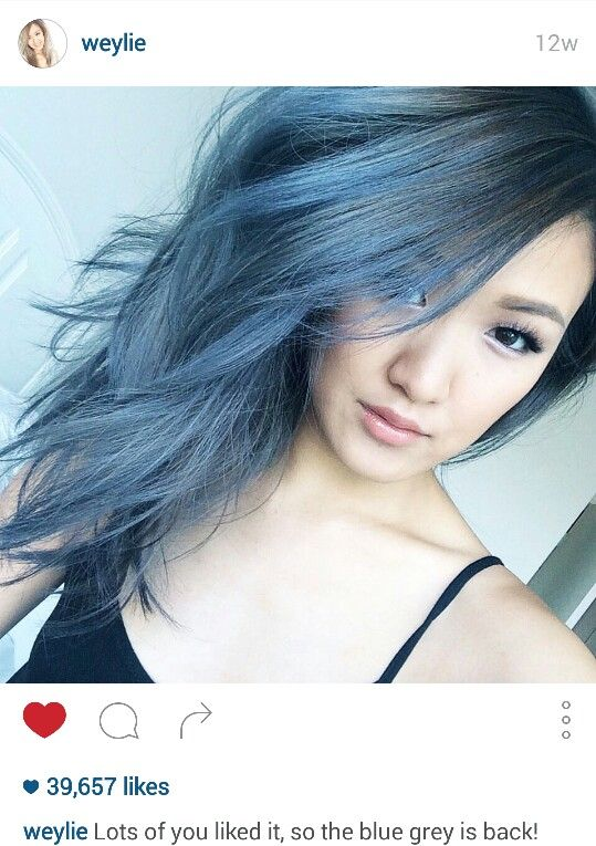 best 25 blue grey hair ideas only on pinterest silver