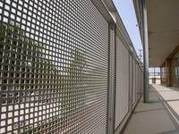 Balkon-Geländerfüllung aus Lochblech