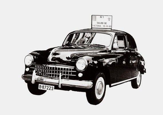 Se cumplen 60 años de la fabricación del primer Seat, el 1400 - http://www.actualidadmotor.com/2013/11/12/60-anos-fabricacion-primer-seat/