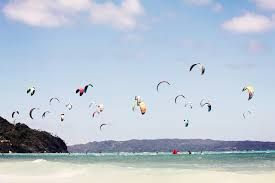 Kitesurfing in Ponta do Ouro