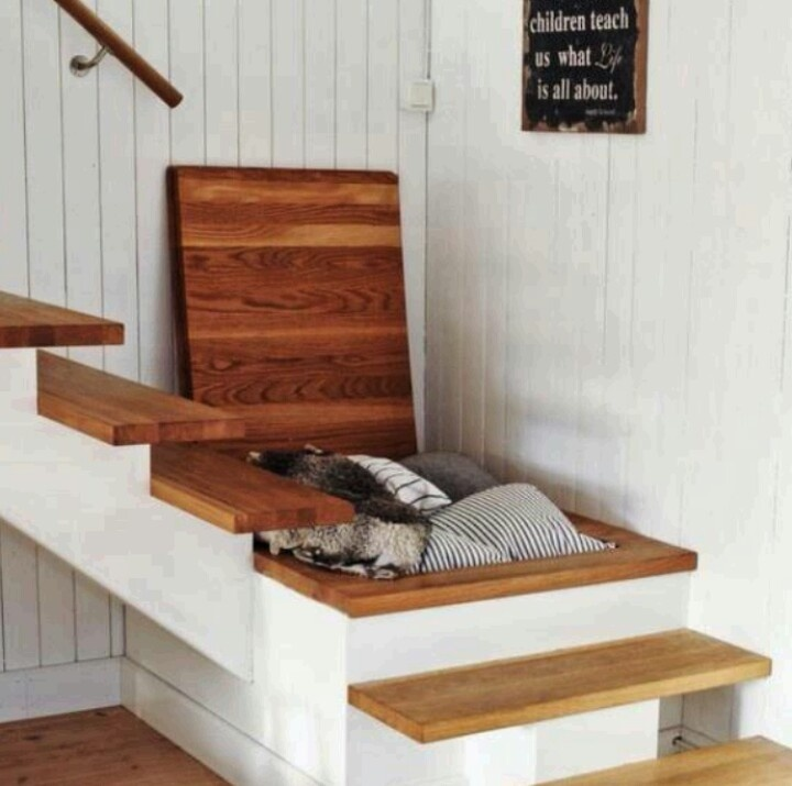 A space saving staircase!