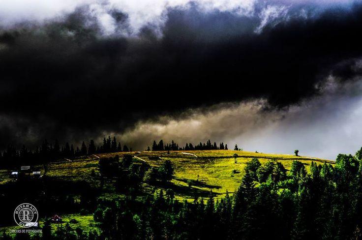 Titlu: Furtuna Descriere/locație: Soarele ieșind dupa furtună în masivul Ceahlău. Fotograf: Daria Virbanescu