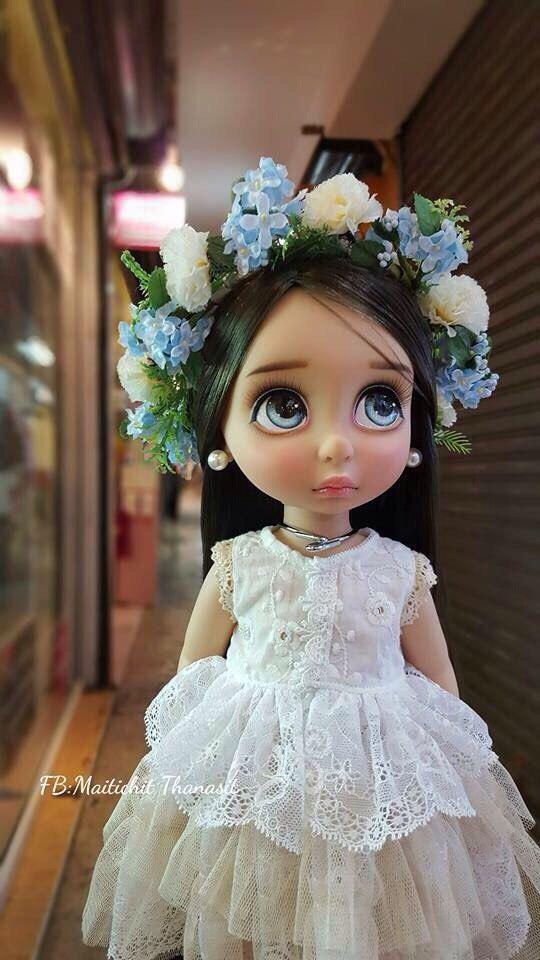Doll clothes / Disney animator doll Rapunzel