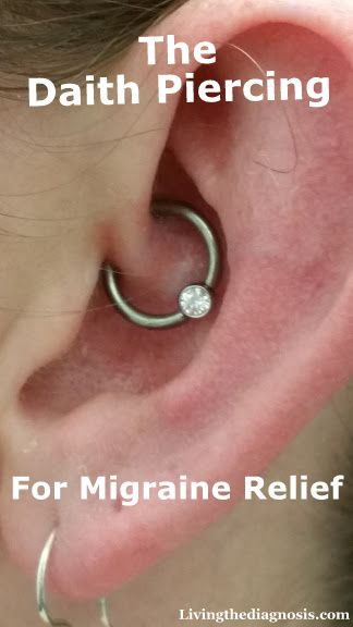 """Have you heard of the """"Daith"""" piercing for migraine relief? Here is my take on it... (scheduled via http://www.tailwindapp.com?utm_source=pinterest&utm_medium=twpin&utm_content=post25669878&utm_campaign=scheduler_attribution)"""