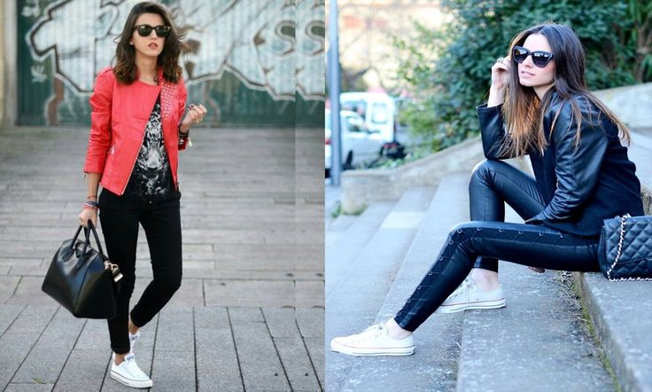 Outfits casuales con converse