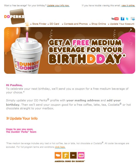 10 Email Marketing Trends for 2015 Email Marketing Pinterest - sample happy birthday email