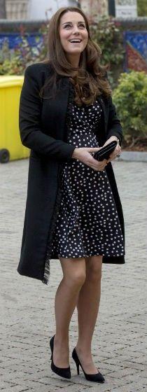 Roupas de grávida de Kate Middleton - Bolsa de Mulher
