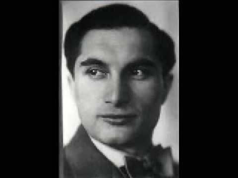 Joseph Schmidt - Ein Lied geht um die Welt ( 1933 )