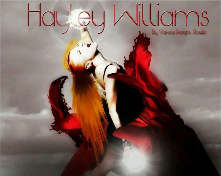 Hayley Williams - Paramore By: Varela Designs Studio