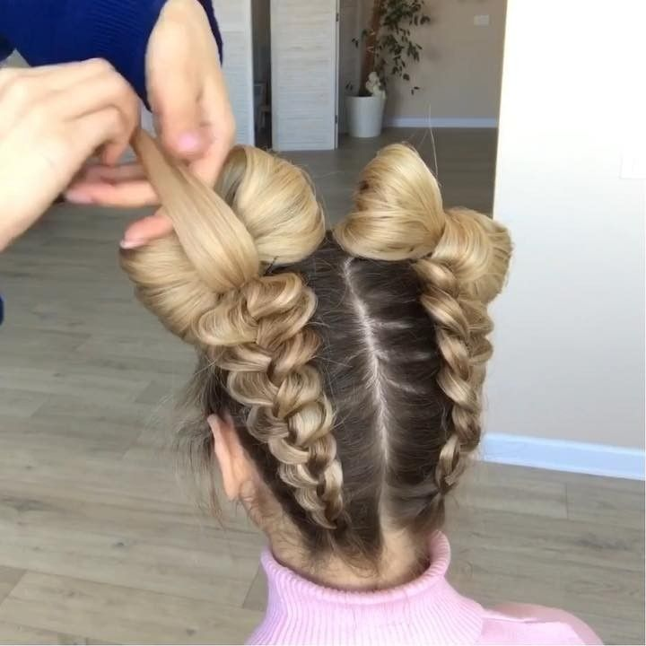 Hair Style Tutorial On Instagram Follow Hairstylezt To Get More Hair Style Ideas And Learn To Save More Mone Hair Videos Hair Videos Tutorials Hair Tutorial