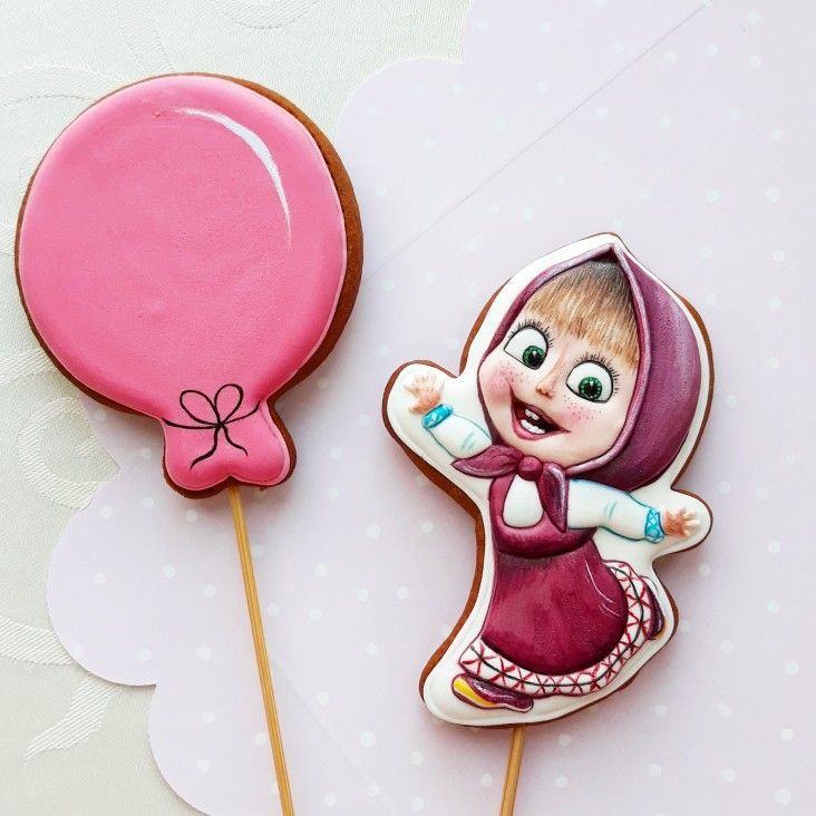 Masha I Medved Crafts Sugar Cookie Enamel Pins