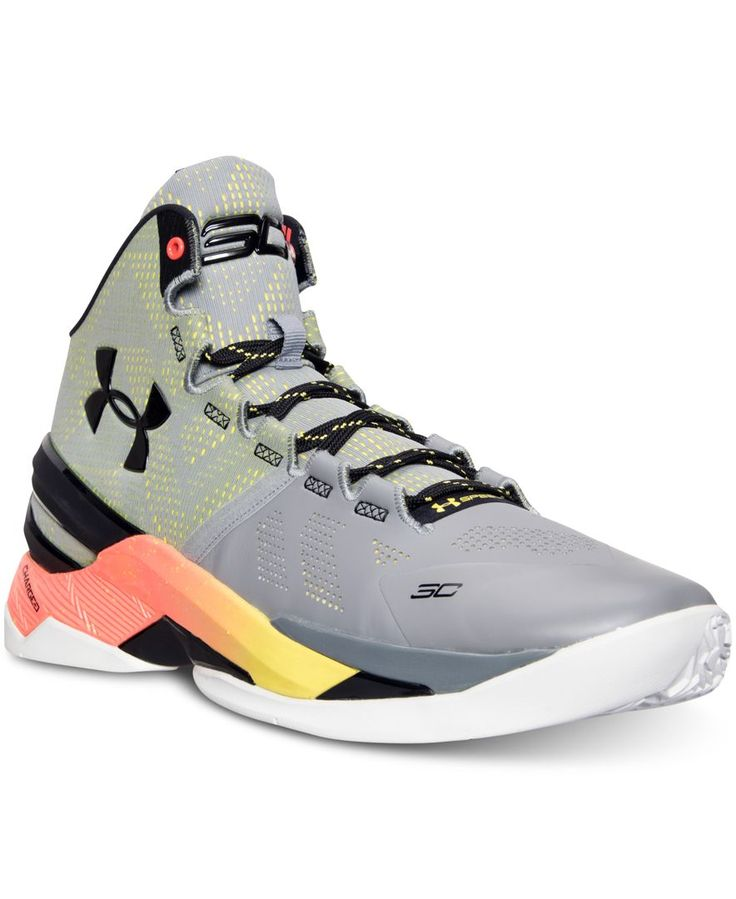 Under Armour Men's Curry Two Basketball Sneakers from Finish Line