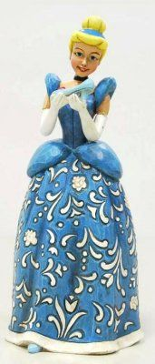 'Dreaming for a prince' Cinderella musical figure (Jim Shore, Sonata series)