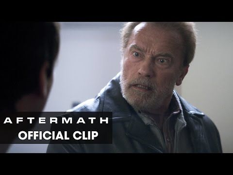 "AFTERMATH  (April 2017) Official Clip ""Confrontation"" - Arnold Schwarzenegger, Scoot McNairy, Maggie Grace - Two strangers lives become inextricably bound together after a devastating plane crash. Inspired by actual events [...] - In theaters April 7, 2017. 