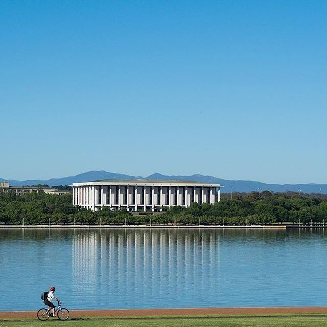 """Summer is here everyone!"" This glorious photo by Instagrammer @fran_t certainly captures the beauty of this season in the nation's capital.  Summer is a great time to explore the outdoors and Canberra has an abundance of superb parks, lakes, rivers and reserves so close to the city. #visitcanberra #onegoodthingafteranother"