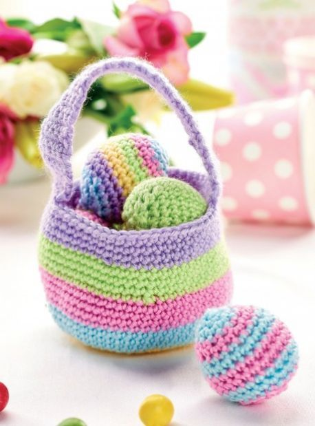 167 best pske easter images on pinterest amigurumi patterns crochet easter basket easter gifthappy eastereaster projectsfree knittingknitting patternsegg negle Image collections