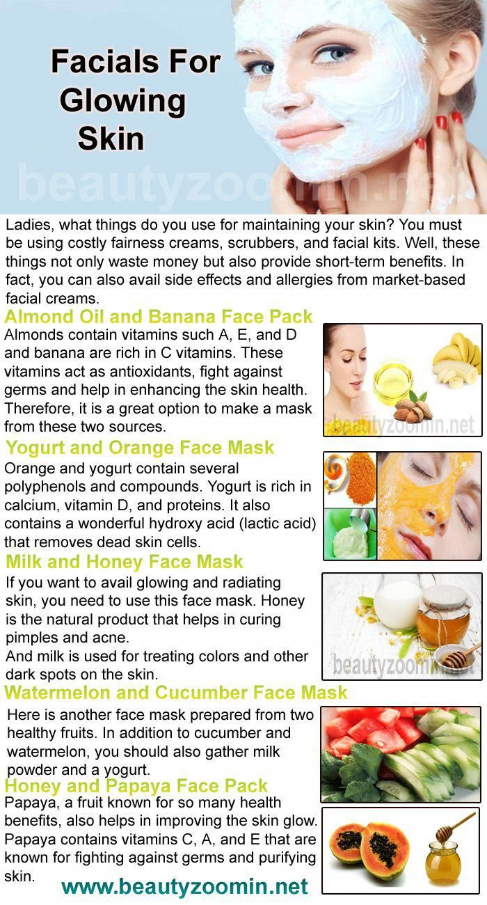 Amazing Home Made Facials For Glowing Skin Ladies What Things Do You Use For Maintaining Your Skin You Must Be In 2020 Glowing Skin Skin Care Oily Skin Care Routine