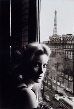 Catherine Deneuve, Paris, Esquire, 1976Photographer: Helmut Newton