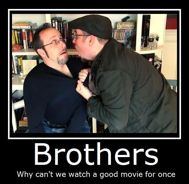 The Nostalgia Critic- Brothers by MasterOf4Elements.deviantart.com on @DeviantArt