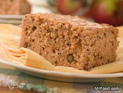 Amish Applesauce Cake ~ Our classic Amish Applesauce Cake is packed with old-fashioned goodness that only a from-scratch cake can deliver. Applesauce adds a tangy-sweet taste and moistness to this wholesome cake that will take your taste buds to a Lancaster County farmhouse.