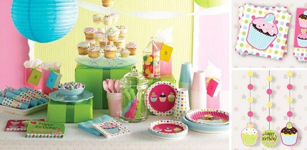 """Addobbi e decorazioni per feste a tema """"Cupcake"""" su VegaooParty"""