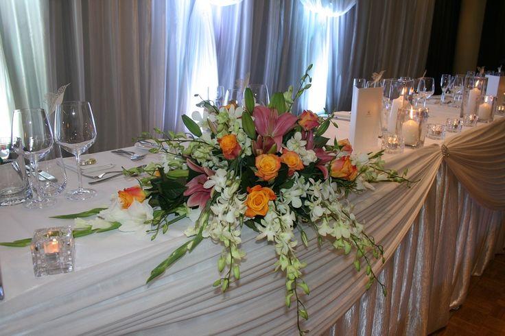 Bridal table centre