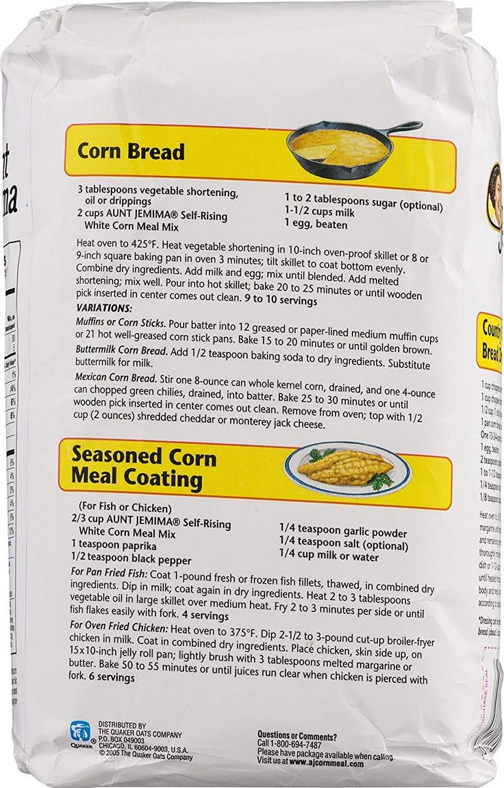 Image result for aunt jemima cornbread dressing recipe on bag (With images) | Corn bread recipe ...