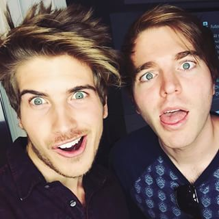 Joey Graceffa and Shane Dawson